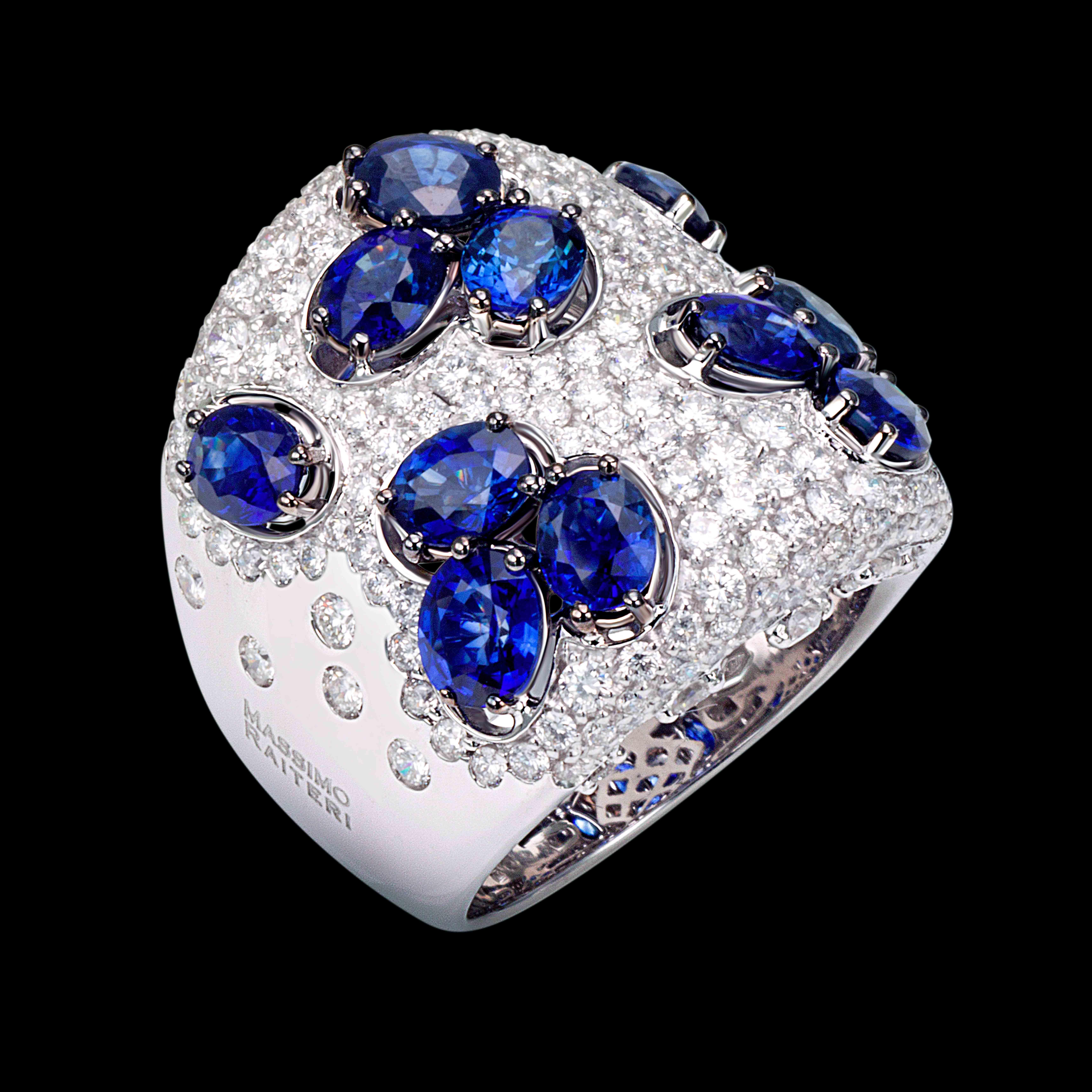 AN 2927 ZF - massimo raiteri gioielli exclusive jewellery zaffiri design