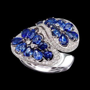 Massimo Raiteri gioielli jewellery zaffiri sapphire ring anello diamonds diamanti