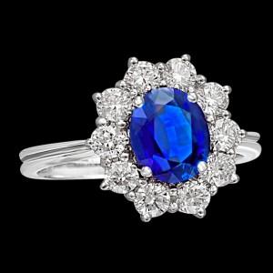 massimo raiteri exclusive jewellery gioielli ring anello contorno classic diamonds diamanti sapphire zaffiro