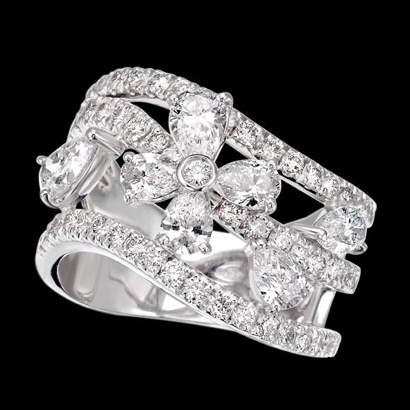 massimo raiteri exclusive jewelry jewelry gioielli diamanti diamonds white bianchi flower fiore