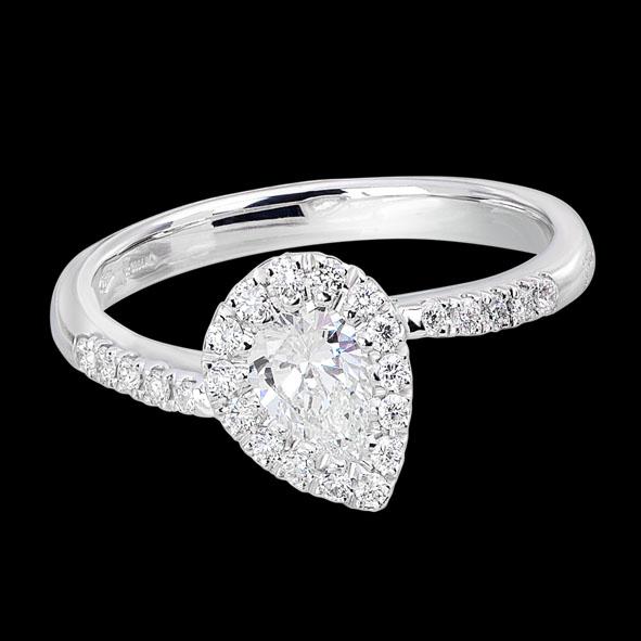 massimo raiteri jewellery gioielli jewelery anello ring solitar solitario diamanti diamond heart cuore fidanzamento