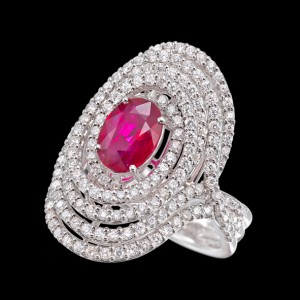 massimo raiteri exclusive jewellery gioielli ring diamond diamanti ruby rubino