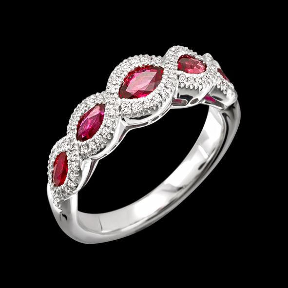 massimo raiteri exclusive jewellery gioielli ruby rubini anello ring