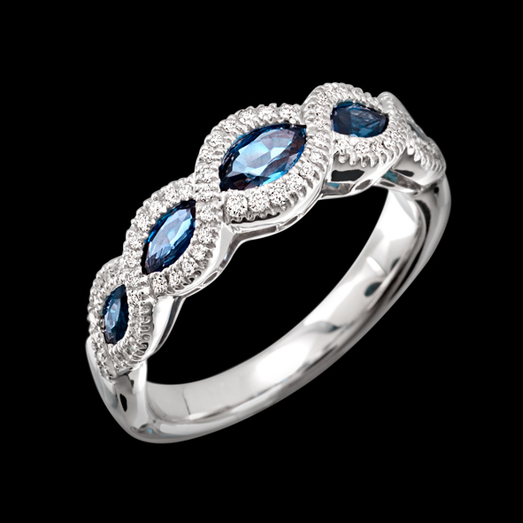 massimo raiteri anello exclusive jewellery sapphire zaffiri