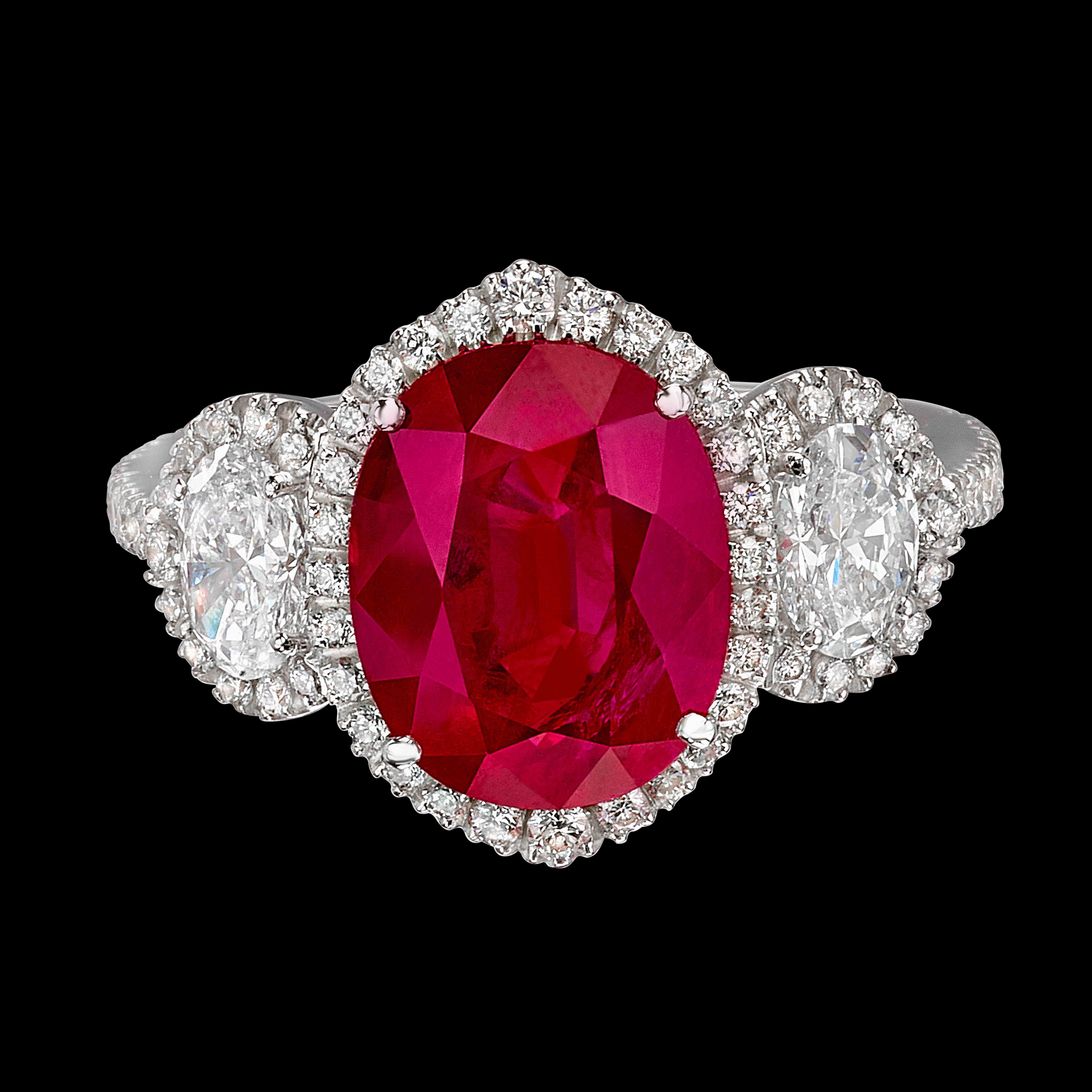 Massimo Raiteri Exclusive Jewelry classic design timeless classici senza tempo rubino rubini ruby sapphire zaffiri emerald ring anelli anello diamanti mezzalune moon