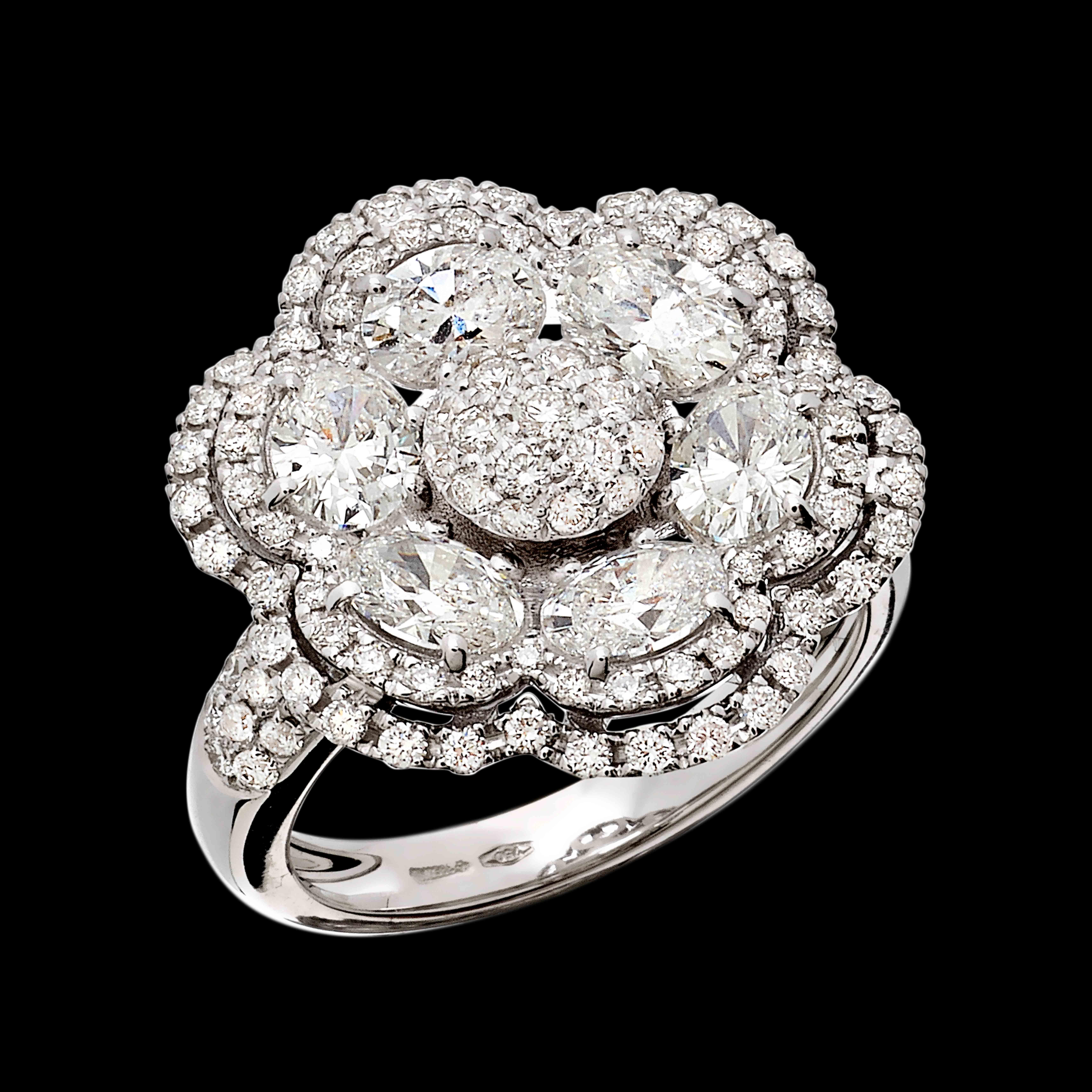 Massimo Raiteri exclusive jewellery diamonds diamanti anelli ring jewelery jewel ruby emerald sapphires diamonds rubini smeraldi zaffiiri diamanti flower fiori high