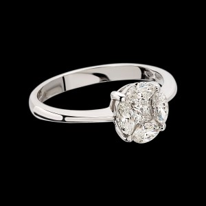Massimo Raiteri exclusive jewellery diamonds diamanti ring anello engagement wedding solitario trilogy infinity