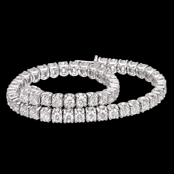 massimo raiteri jewellery gioielli jewelry diamond diamanti tennis bracciale braccialetto bracelet classic classico