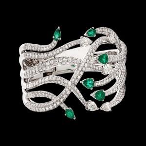 Massimo Raiteri exclusive jewelry fashion design ring bracelet anello diamanti bracciale moda unico unici high emerald smeraldi colombia