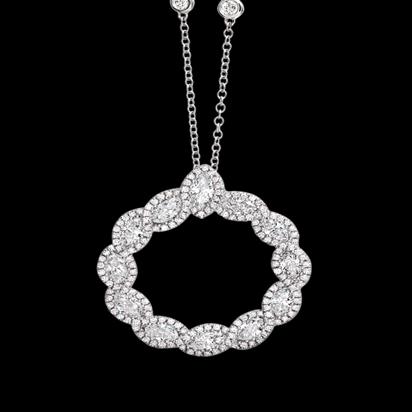massimo raiteri exclusive jewellery gioielli diamanti diamond necklace