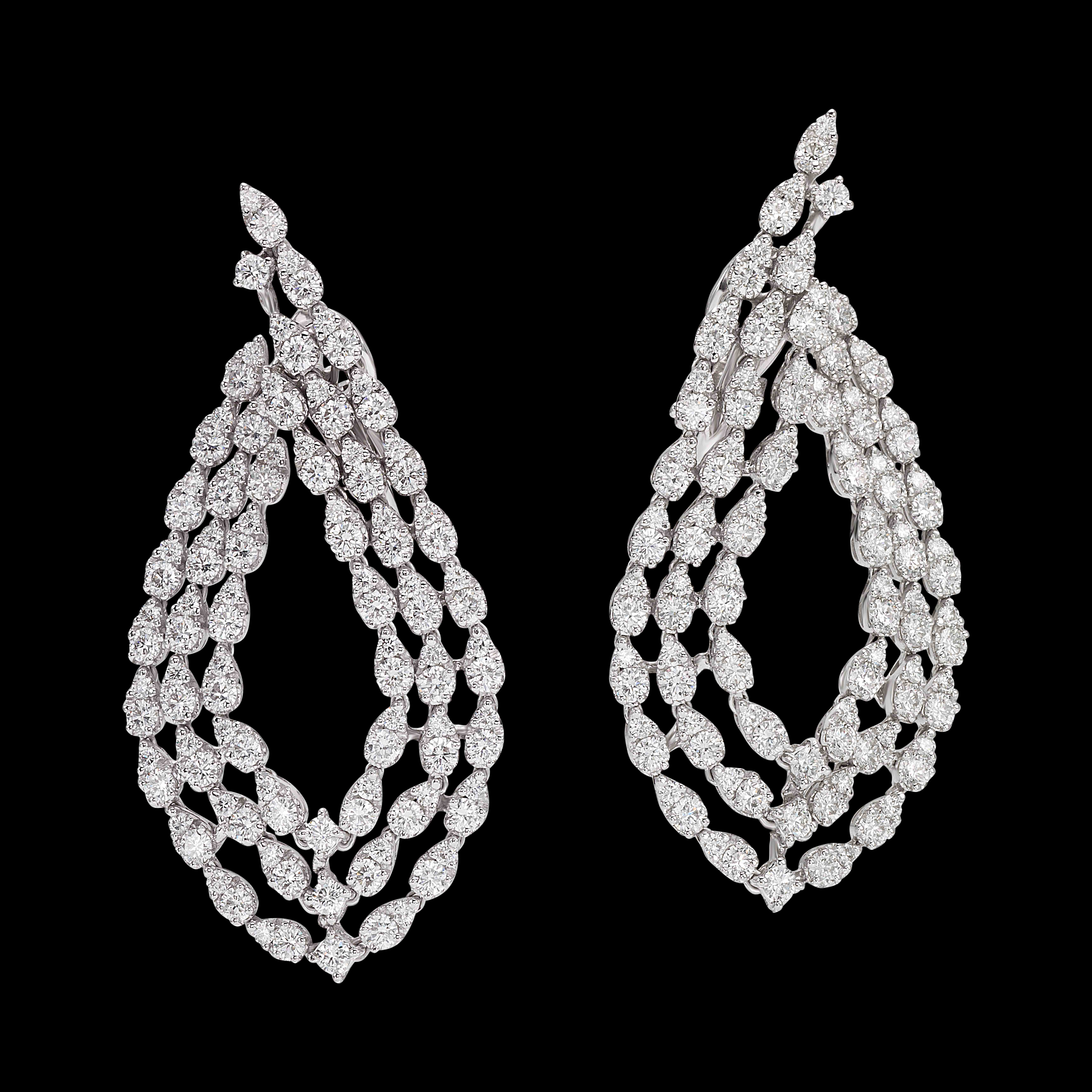 massimo raiteri exclusive jewellery gioielli diamond diamanti diamonds earring orecchini classic classici