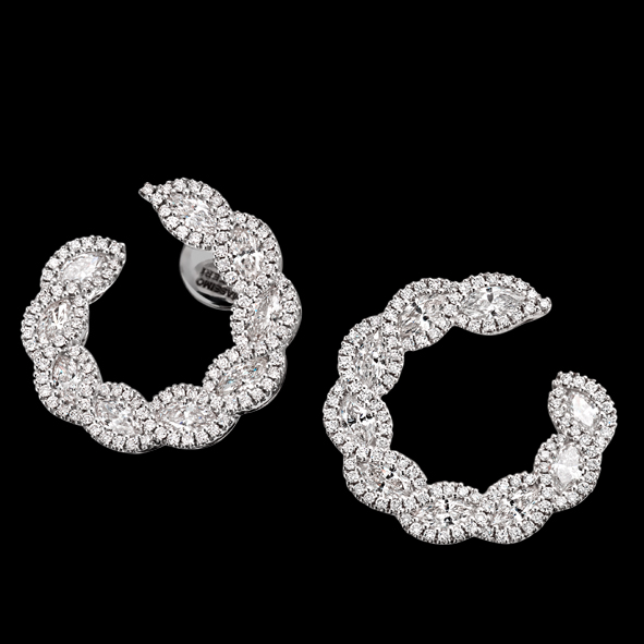 massimo raiteri exclusive jewellery gioielli earring orecchini diamanti diamonds