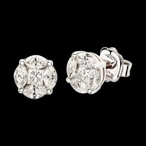 Massimo Raiteri exclusive jewellery diamonds diamanti ring anello engagement wedding solitario trilogy infinity earring orecchini